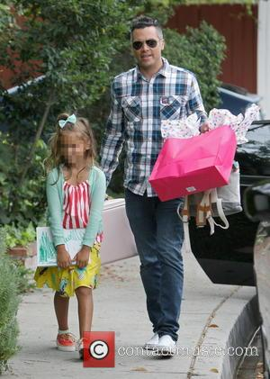 Cash Warren and Honor Warren - Jessica Alba and Cash Warren leave a birthday party in Hollywood with their two...