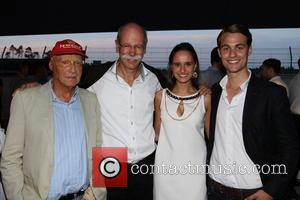 Niki Lauda, Nora Zetsche and Friend