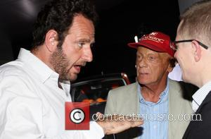 Niki Lauda and Matteo Bonciani