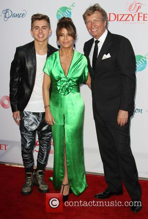Michael Dameski, Paula Abdul and Nigel Lythgoe