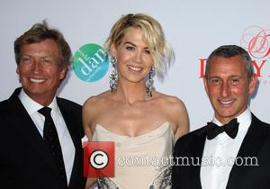Nigel Lythgoe, Jenna Elfman and Adam Shankman