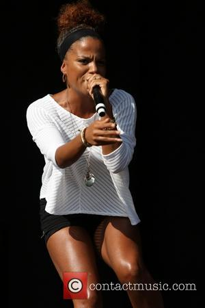 Ms. Dynamite and Niomi MacLean-Daley - Guilfest 2014 - Day 2 - Performances - Ms. Dynamite - Surrey, United Kingdom...