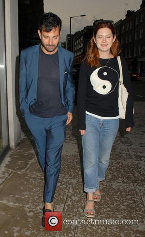 Bonnie Wright - Bonnie Wright and Simon Hammerstein leaving Il...