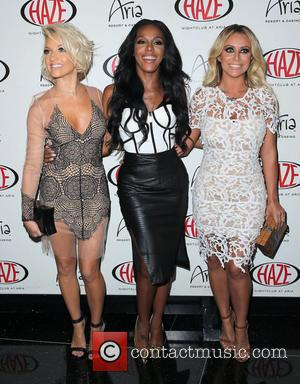 Danity Kane, Shannon Bex, Dawn Richard and Aubrey O'Day - Danity Kane Bring Lemonade to HAZE Nightclub at ARIA -...