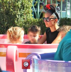 Nicole Richie, Harlow Madden and Sparrow Madden