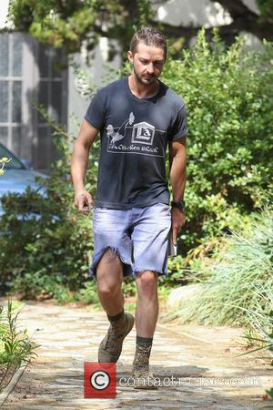 Shia LaBeouf - Shia LaBeouf leaving an AA (Alcoholics Anonymous) meeting holding a book - Los Angeles, California, United States...