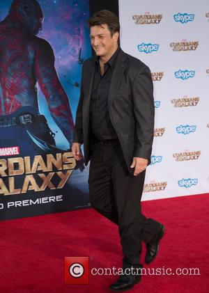 Nathan Fillion - The premiere of Marvel's 'Guardians Of The Galaxy' at the Dolby Theatre in Hollywood - Arrivals -...
