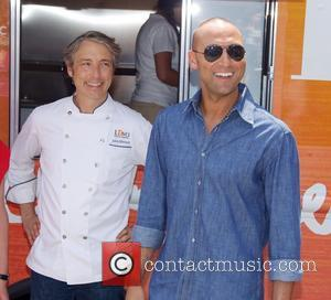 Derek Jeter - Launch of the LUVO Food Truck - New York City, New York, United States - Monday 21st...