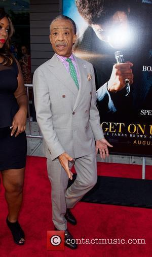 Al Sharpton - New York Premiere of 'Get On Up' at The Apollo Theater - Red Carpet Arrivals - New...