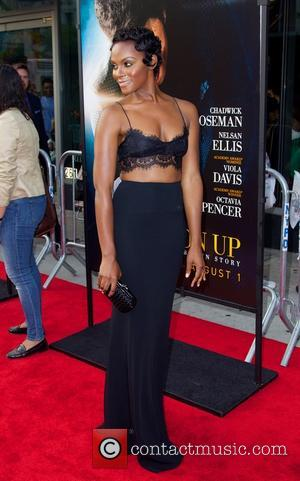 Tika Sumpter - New York Premiere of 'Get On Up' at The Apollo Theater - Red Carpet Arrivals - New...