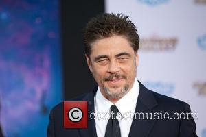 Benicio Del Toro - The premiere of Marvel's 'Guardians Of The Galaxy' at the Dolby Theatre in Hollywood - Arrivals...