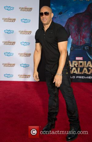 Vin Diesel - The premiere of Marvel's 'Guardians Of The Galaxy' at the Dolby Theatre in Hollywood - Arrivals -...