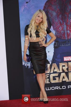 Kelli Berglund - Celebrities attend the premiere of Marvel's 'Guardians Of The Galaxy' at the Dolby Theatre in Hollywood. -...