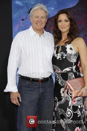 Bruce Boxleitner and Guest - Celebrities attend the premiere of Marvel's 'Guardians Of The Galaxy' at the Dolby Theatre in...