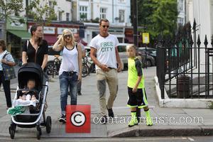 Gwen Stefani, Gavin Rossdale, Apollo Rossdale and Kingston Rossdale