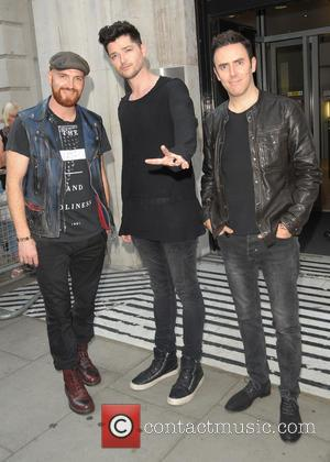 Danny O'donoghue, Mark Sheehan, Glen Power and The Script