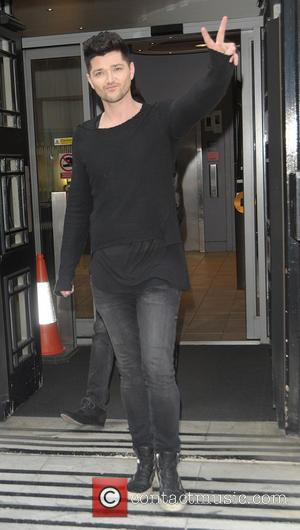 Danny O'Donoghue - The Script leaving the BBC Radio 2 studios - London, United Kingdom - Monday 21st July 2014