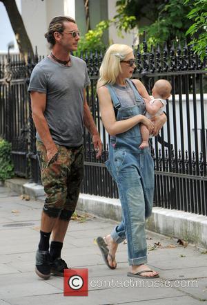 Gwen Stefani, Gavin Rossdale and Apollo Rossdale