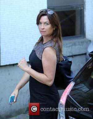 Suzi Perry - Suzi Perry outside ITV Studios today - London, United Kingdom - Tuesday 22nd July 2014