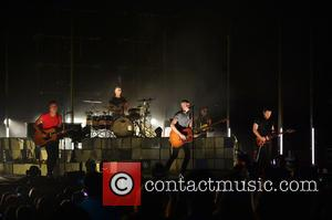 Slade, Guitarist Joe King, Drummer Ben Wysocki, David Welsh and The Fray