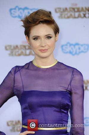 Karen Gillan - Film Premiere of Guardians of the Galaxy - Los Angeles, California, United States - Tuesday 22nd July...