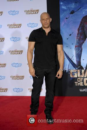 Vin Diesel - Film Premiere of Guardians of the Galaxy - Los Angeles, California, United States - Tuesday 22nd July...