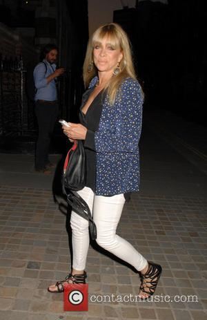 Jo Wood - Celebrities at Chiltern Firehouse in Marylebone - London, United Kingdom - Wednesday 23rd July 2014