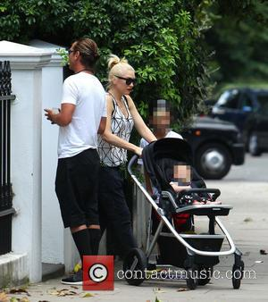 Gavin Rossdale, Gwen Stefani, Kingston Rossdale and Apollo Rossdale - Gwen Stefani and Gavin Rossdale out with their children in...