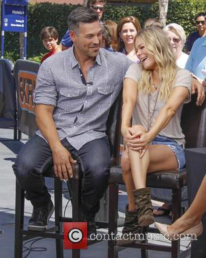 Eddie Cibrian and LeAnn Rimes - LeAnn Rimes appears on Extra - Universal City, California, United States - Wednesday 23rd...