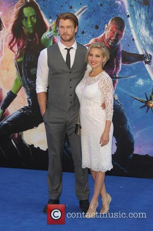 Chris Hemsworth and Elsa Pataky - UK premiere of 'Guardians of the Galaxy' held at the Empire Cinemas - Arrivals...