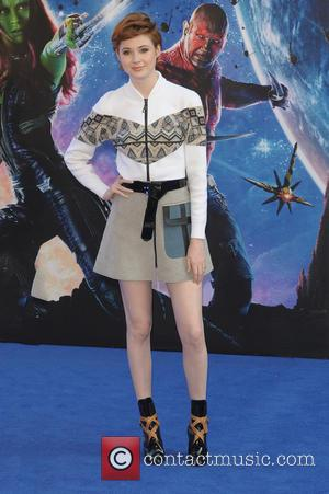 Karen Gillan - UK premiere of 'Guardians of the Galaxy' held at the Empire Cinemas - Arrivals - London, United...