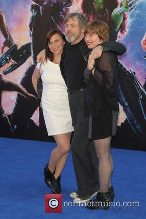 Mark Hamill and Marilou York - UK premiere of 'Guardians of the Galaxy' held at the Empire Cinemas - Arrivals...