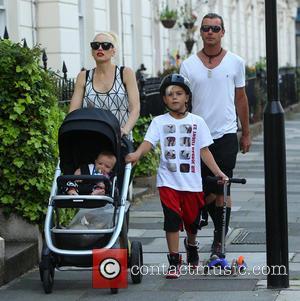 Gwen Stefani, Gavin Rossdale, Kingston Rossdale and Apollo Rossdale