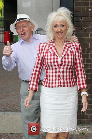 Debbie McGee and Paul Daniels - Paul Daniels and wife Debbie McGee outside ITV Studios today - London, United Kingdom...