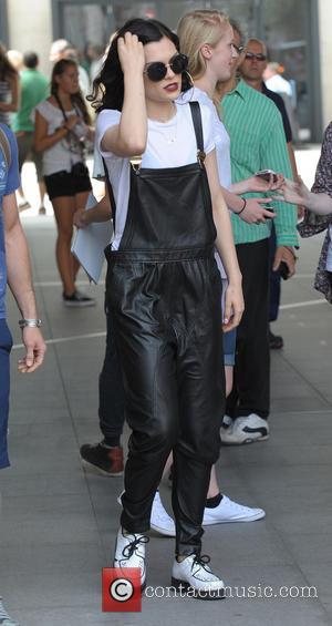 Jessie J - Jessie J leaving the BBC Radio 1 studios - London, United Kingdom - Wednesday 23rd July 2014