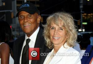 Harry Belafonte and Pamela Frank - CBS News marks the 50th anniversary of civil rights at The Ed Sullivan Theater...