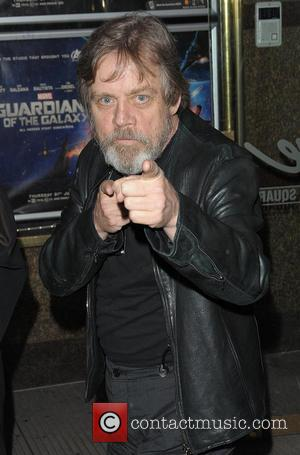 Mark Hamill - Celebrities leaving the UK premiere of 'Guardians of the Galaxy' - London, United Kingdom - Thursday 24th...