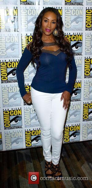 Vivica A Fox - San Diego Comic-Con International - Cast promote Sharknado 2: The Second One movie - San Diego,...