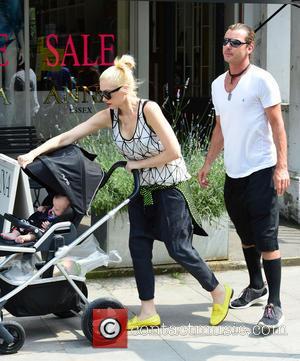 Gwen Stefani, Gavin Rossdale, Kingston Rossdale, Zuma Rossdale and Apollo Rossdale