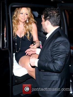 Mariah Carey and Brett Ratner - Los Angeles premiere of 'Hercules' -  Afterparty held at the Roosevelt Hotel on...