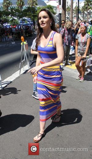 Sarah Wayne Callies - San Diego Comic-Con International - Day 1 - Celebrity arrivals - San Diego, California, United States...
