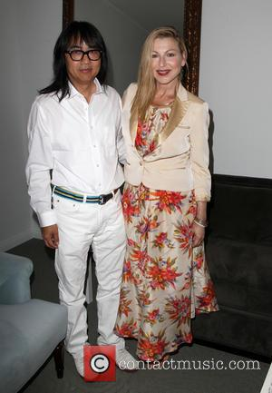 Stephen Kamifuji and Tatum O'neal