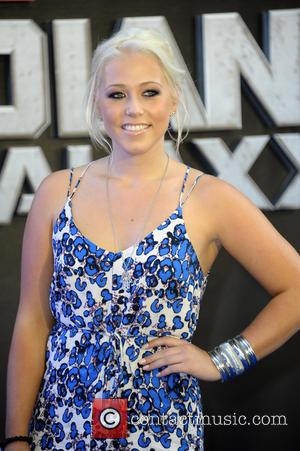 Amelia Lily - UK premiere of 'Guardians of the Galaxy' at Empire Cinema Leicester Square - Arrivals - London, United...