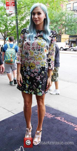 Kesha - Kesha arrives at her New York hotel - New York, United States - Thursday 24th July 2014