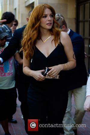 Rachelle Lefevre - San Diego Comic-Con International - Day 1 - Celebrity arrivals - San Diego, California, United States -...