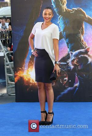 Amal Fashanu - 'Guardians of the Galaxy' - UK film premiere held at the Empire cinema - Arrivals - London,...