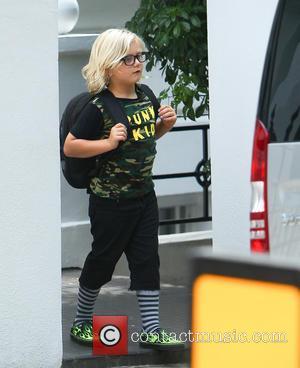 Gwen Stefani, Zuma Rossdale and Gavin Rossdale