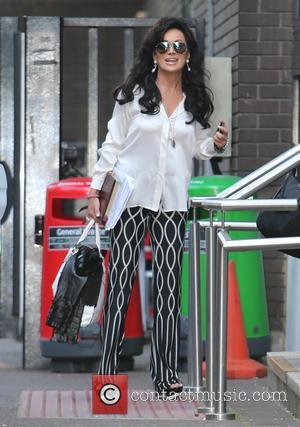 Nancy Dell'Olio - Nancy Dell'ollio outside ITV Studios - London, United Kingdom - Thursday 24th July 2014