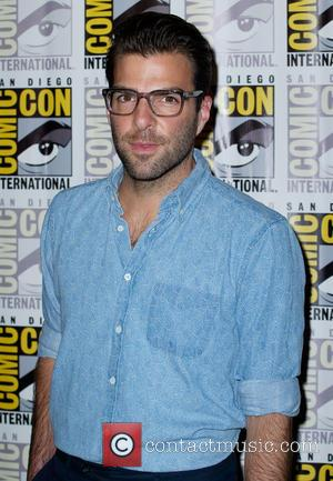 Zachary Quinto - Comic-Con International: San Diego - 20th Century Fox presentation at San Diego Convention Center - San Diego,...