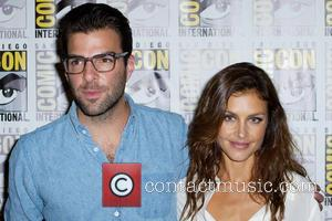 Zachary Quinto and Hannah Ware